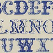 Ornamental Font Poster