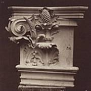 Ornamental Sculpture From The Paris Opera House (column Detail) Poster
