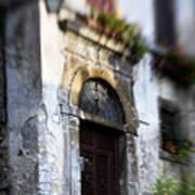 Ornate Italian Doorway Poster