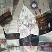 Os1957bo007 Abstract Landscape Of Potosi Bolivia 22 X 30.6 Poster