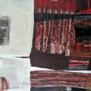 Os1957bo008 Abstract Landscape Of Potosi Bolivia 22.3 X 30.3 Poster