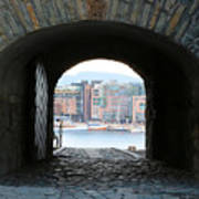 Oslo Castle Archway Poster by Carol Groenen