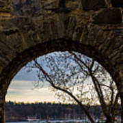 Oslo From Akershus Fortress Poster
