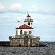 Oswego NY Lighthouse Poster