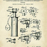 Otoscope Patent 1927 Old Style Poster