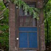 Our Outhouse - Photograph Poster