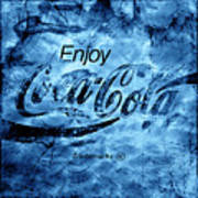 Out Of This World Coca Cola Blues Poster