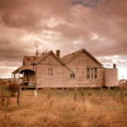 Outback Farmhouse Poster