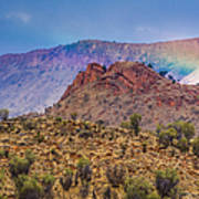 Outback Rainbow Poster