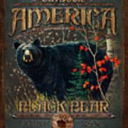 Outdoor Bear Poster