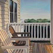 Outer Banks Morning Sun Poster