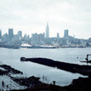 Overcast City Poster