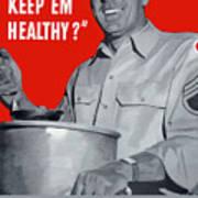 Overcooking Destroys Vitamins Poster
