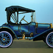Overland 1911 Painting Poster