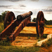 Overlooking Yorktown  ... Poster