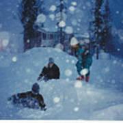 Overnight Snow Poster