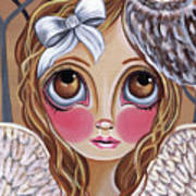 Owl Angel Poster by Jaz Higgins