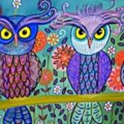 Owl In The Family Poster