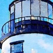 Owls Head Light House Poster