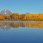 Oxbow Bend First Light  Poster