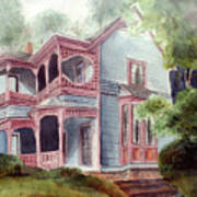 Ozark Cottage Poster