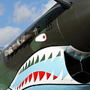 P-40 Flying Tigers Poster