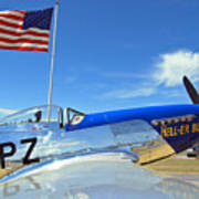 P-51 Hell - Er - Bust Poster