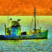 p1030865001d  Fishing  Boat Poster