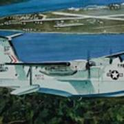 P5m Over North Island Poster