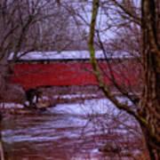 Pa Covered Bridge Poster