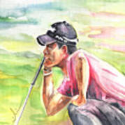 Pablo Larrazabal Winning The Bmw Open In Germany In 2011 Poster