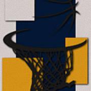 Pacers Hoop Poster