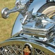 Packard Hood Ornament Poster