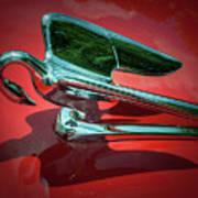 Packard Caribbean Hood Ornament Poster