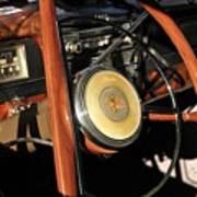 Packard Steering Wheel Poster