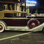 Packard Twelve Sedan Convertible Poster