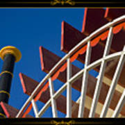 Paddlewheel With Border Poster
