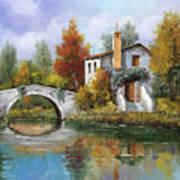 Paesaggio Pastellato Poster