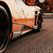 Pagani Huayra - Monza In Autumn Poster