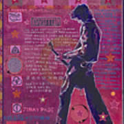 Page In Pink Poster