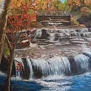 Paine Falls Poster