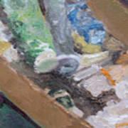 Paint Box Poster