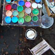 Paint Pots Poster