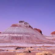 Painted Desert Tepees Poster