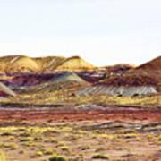 Painted Desert Winter 0602 Poster