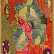 Painted Geisha Poster by Roberta Baker