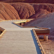 Painted Hills Boardwalk Poster