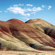 Painted Hills Colors Poster