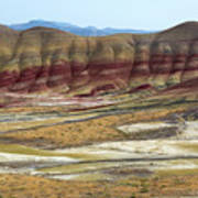 Painted Hills View From Overlook Poster