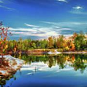 Painted Klondike Autumn Poster